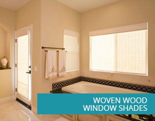 Woven Wood Window Shades