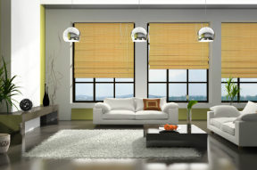 Woven wood shades popular in 2015