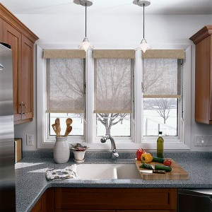 Window top treatments at Houston Blinds For Less
